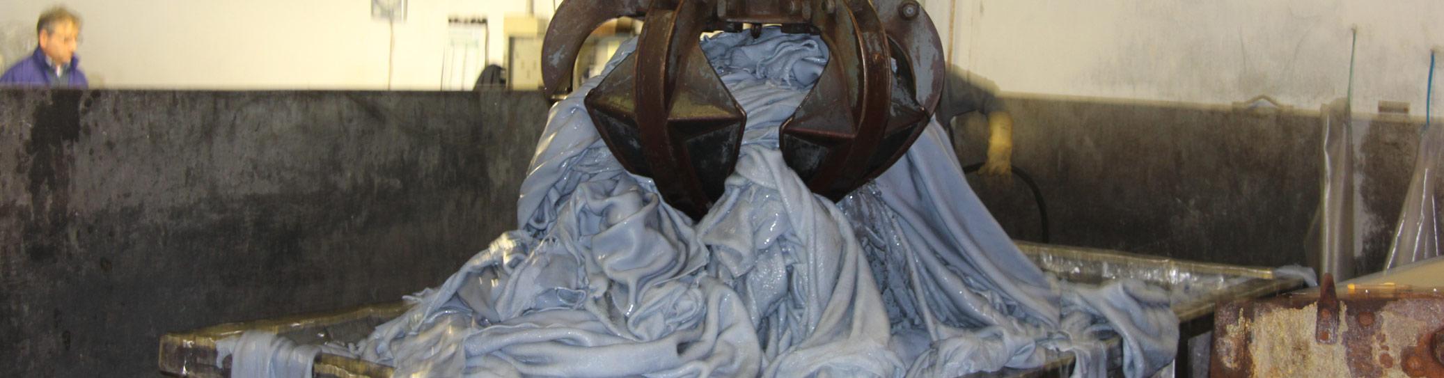 wet blue hides